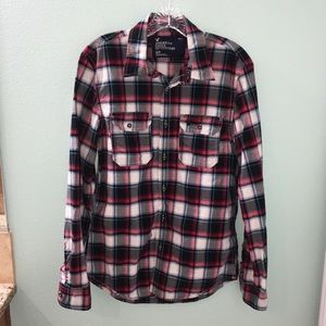 American Eagle Outfitters Plaid Button Up No77